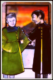 Spock and McCoy on Their Wedding Day - By L Hamner